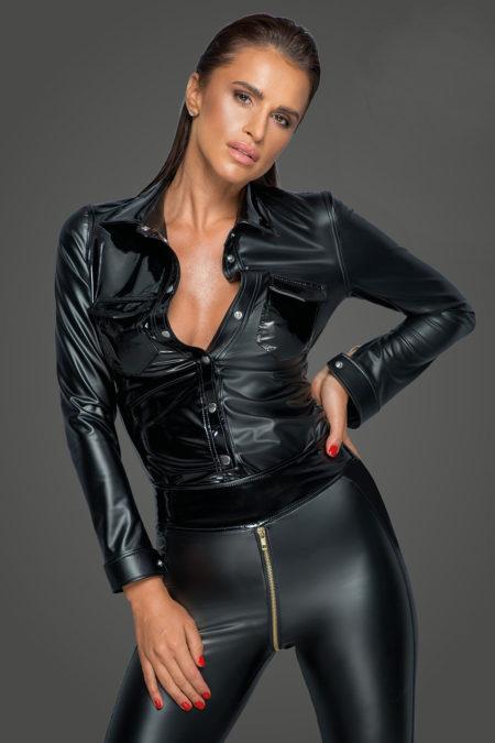 noir-handmade-f227-sexy-wetlook-jacket-latex-blouse