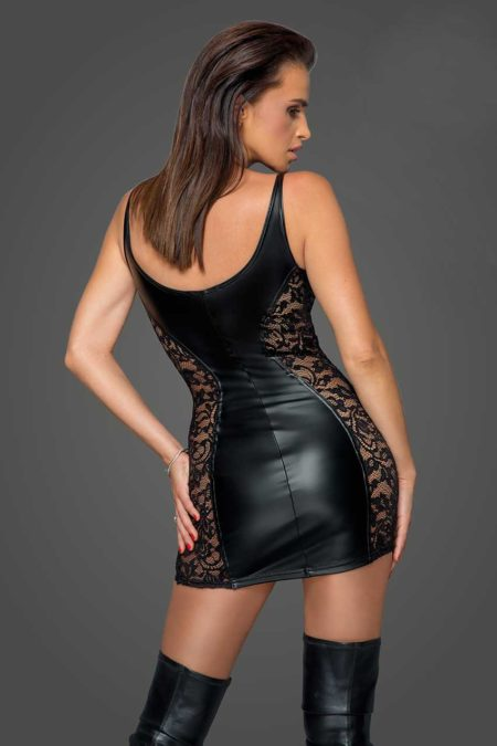 noir-handmade-f229-power-wetlook-black-dress-with-lace-inserts-back