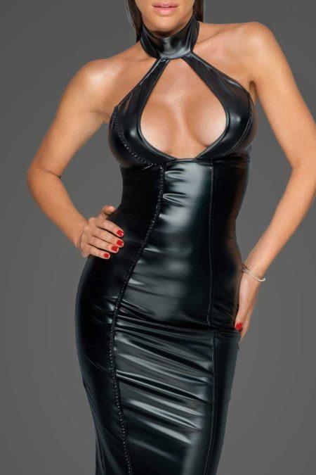 noir-handmade-f231-wetlook-black-dress-with-hot-decolette-1