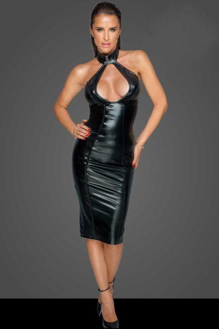 noir-handmade-f231-wetlook-black-dress-with-hot-decolette
