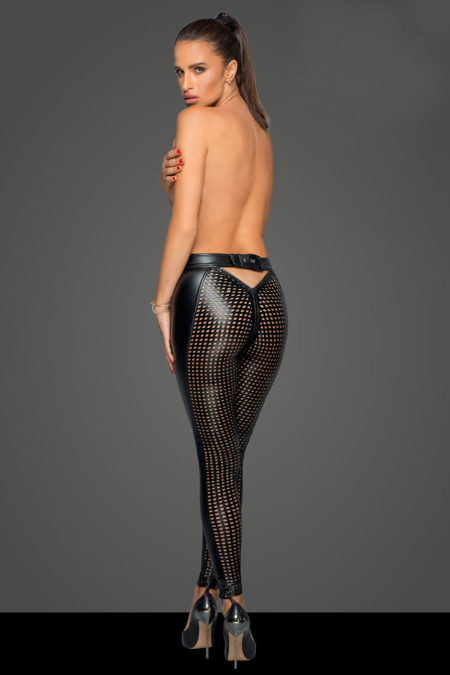 noir-handmade-f233-sexy-and-erotic-lasercut-wetlook-pants-back-1