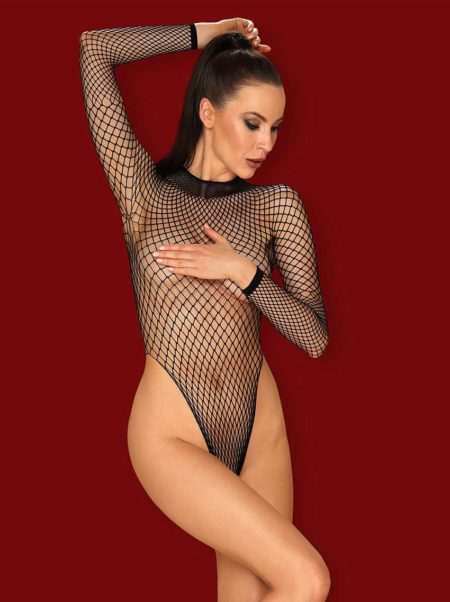 obsessive-b125-black-fishnet-teddy-see-trough-body