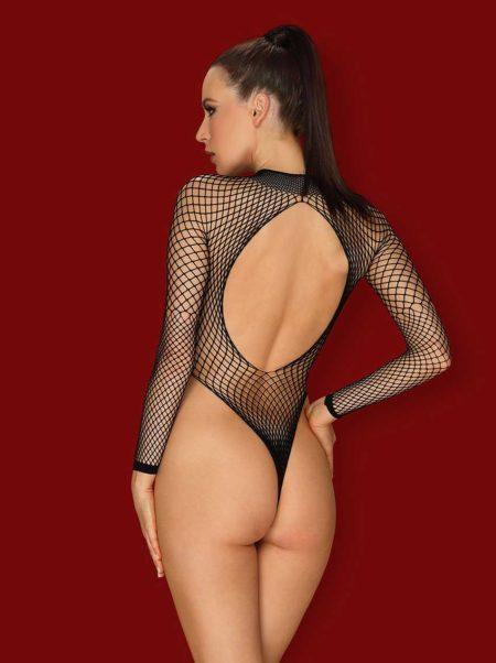 obsessive-b125-black-fishnet-teddy-see-trough-body-back