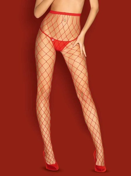 Obsessive-S812-tights-provocative-red-fishnet-tights