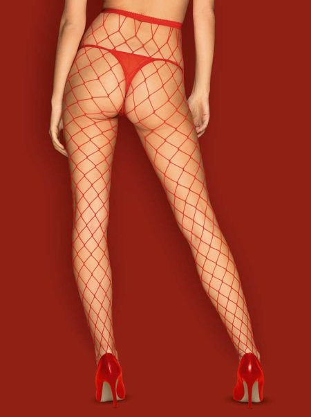 Obsessive-S812-tights-provocative-red-fishnet-tights-back